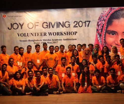 Workshop Day of Joy of Giving 2017