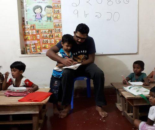Dhanmondi School Pre Education ongoing class