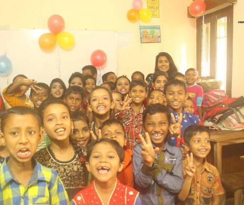 Class party at OBHIZATRIK School 2017