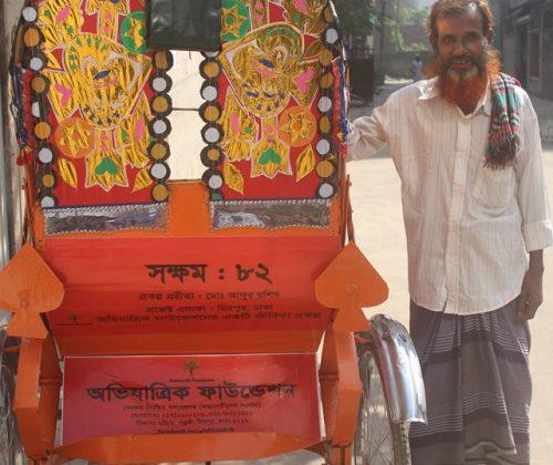 SHOKKHOM Project No 82: Rickshaw Project