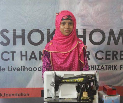 SHOKKHOM Project No 06: Sewing Machine Project
