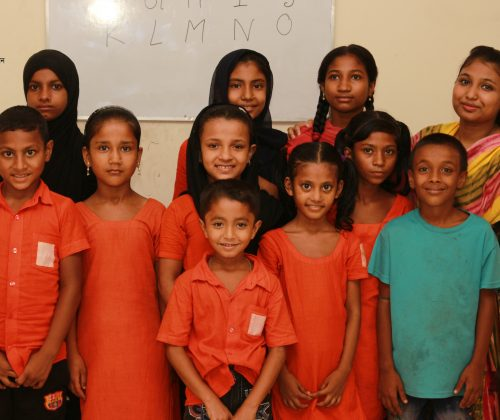 Students of Class three