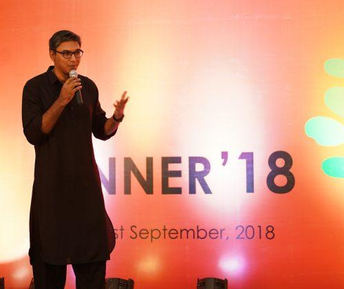 Arif R Hossain describing about our journey